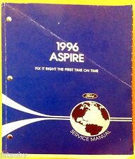 Ford 1996 Aspire Service Manual Technical Publications Department