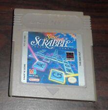 Nintendo Game Boy. Super Scrabble. DMG-SR-USA