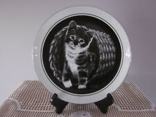 'Hello World' Kitten's World Collector Plate By Droguett  - #2 in Series 1979