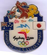SYDNEY 2000 ~ JAPAN 2020 ~ NOC - OLYMPIC GAMES GOLD PIN
