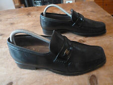 "mens CHURCH'S ""lucca"" hand sewn moccasins - size 7.5 F great condition"