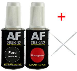 Lackstift Ford FM6EWHA Magnetic Grau Metallic 2245701 + Klarlack + 2Lacktupfer j