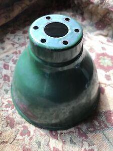 Wardle Vintage Industrial Enamel Light Shade Green