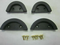 1941-49 INTERNATIONAL TRUCK HOOD CORNERS K6-12 SET OF 4
