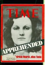 1975 Time Magazine: Patricia Hearst- Tania- Apprehended- September 29 p3r4