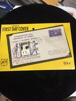 1939 Baseball 100th Anniversary First Day Cover Babe Ruth Photo Unopened Package