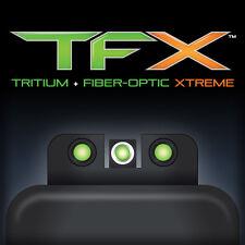 Truglo, Brite-Site TFX Sight, Low, Fits Glock 17/17L/19/22/23, 24/7 Brightness