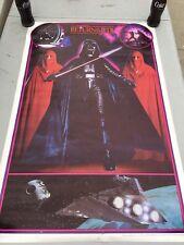 Vintage 1983 Star Wars Return of the Jedi Darth Vader Royal Guard 80s Poster