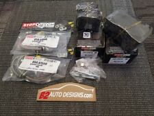 Stoptech Package. Brake Pads and Brake Lines. Fits Subaru WRX STI 08-17