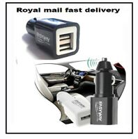 New 5V3.1A Dual USB Car Charger with Smart Sense IC for Samsung IOS iPhone