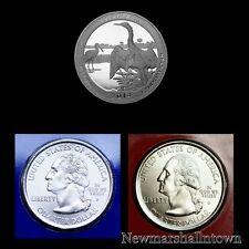 2014 P+D+S Everglades Florida National Park ATB Quarter Mint Proof Set of Three