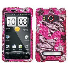 Rebel Stars Crystal Bling Case Phone Cover HTC EVO 4G