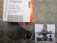 KTM SXF250 2013-2014 new genuine gear selector fork 1st-3rd 54834203000 KT4103