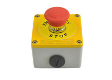 Metal Emergency Stop Push Button Red Telemecanique12V 24V  E stop XAL-MJ