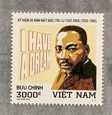 Vietnam Stamp 2018 Dr Martin Luther King Jr. VN #1091 Mint MNH
