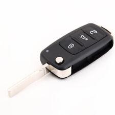 3 bouton Flip Remote Folding Key Shell Case pour VW  Golf MK6 Touareg V2H9