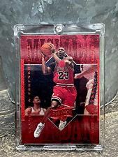 Michael Jordan Card - Refractor - UPPER DECK INSERT - RED FOIL -BULLS JERSEY #23