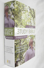 Zondervan NIV Study Bible 2008 with Index and Color Maps Excellent HBDJ
