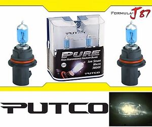 Putco 3800K Iron White 9004 HB1 239004SW 65/45W Headlight Bulb Dual Beam Replace