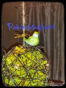 Kissing Ball Yellow