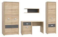 wohnwand mit kleiderschrank g nstig kaufen ebay. Black Bedroom Furniture Sets. Home Design Ideas