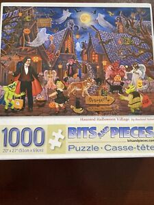Halloween Puzzle 1000 Piece Haunted Hallowern Village