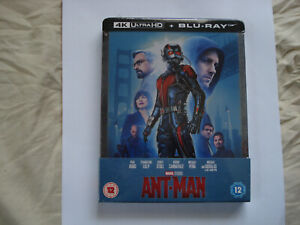 Ant-Man - Zavvi Exclusive 4K Ultra HD Steelbook(Includes 2D Blu-ray)New & Sealed