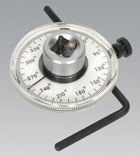 Sealey VS530 calibre 1/2 SQ UNIDAD De Torque Angular precisión herramienta de mano de medición