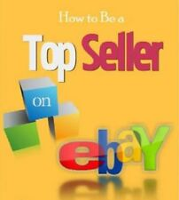 HOW TO BECOME A TOP SELLER ON EBAY  PDF eBook With PLR /MRR!  Free Shipping!