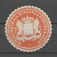 Netherlands cinderellas #R91 - Ministry of internal affairs