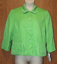 Womens Bright Green Pendleton Jacket Blazer Size 16P 16 Petite  $178 NWT NEW