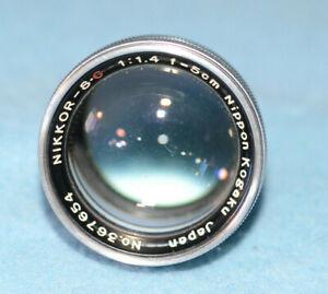 Nikon Nikkor SC 5cm f1.4 Rangefinder Lens - AS IS