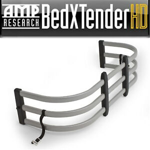 AMP Research® Silver Aluminum Bed Xtender HD Fits 2007-2019 Toyota Tundra