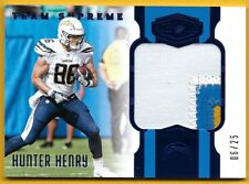 Hunter Henry - 2017 Panini Plates and Patches Team Supreme Patches Blue #10