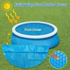 Anti Sun Dust Proof Inflatable Swimming Pool Protective Cover Blue For Family
