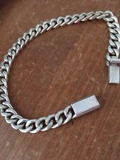 Solid 925 Silver Bracelet 23g