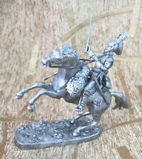 Cuirassier 1812 year Tin Miniature Model Figure Toy soldier Cavalry 54 mm