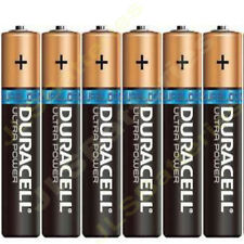 DURACELL ULTRA POWER AAA LR03 Batteries 1.5V ALKALINE MX2400 withTester