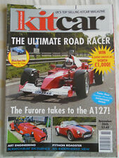 Kit Car Nov 2005 Furore, Python Roadster