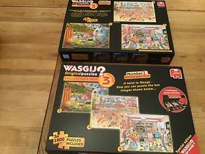 Wasgij collectors box volume 3 original 7,8 & 9 (3 jigsaws)