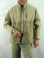 Chaps Khaki Polar Fleece Jacket Nylon Reinforced Jacket  Men's XL NYZ9