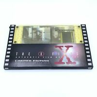 The X-Files 35mm Collector Film Cels The Erlenmeyer Flask 1996 Limited Edition