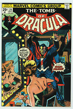 TOMB OF DRACULA #24 7.5 BLADE APPEARANCE OW/W PGS 1974