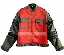 Retour vers le futur marty mcfly veste en cuir