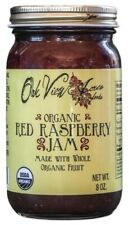 ORGANIC RASPBERRY JAM - 100% Natural Amish Whole Fruit Spread USDA PCO Certified