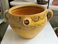 antico vaso con beccuccio maiolica dipinta SICILIA XIX SECOLO - vedi foto