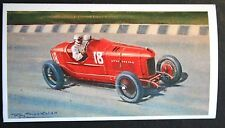 FIAT Type 804    1922 Italian GP  Monza   Superb Motor Racing Card ## Unmounted