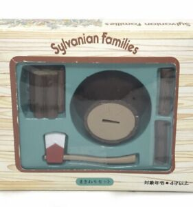 Sylvanian Families / Calico Critters Vintage Wood Cutting Set