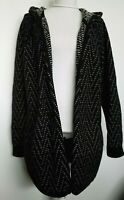 Madewell Womens Casual Open Front Long Cardigan Sweater 100% Wool Size S/M