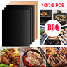 BBQ Grill Mat Reusable Sheet Resistant Non-Stick Barbecue Bake Meat